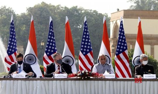 Trung Quốc cảnh báo về Chiến tranh lạnh sau cái bắt tay Mỹ-Ấn - Ảnh 1.
