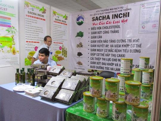 Thịt cá sấu, trái cây Thái Lan... xuất hiện tại hội chợ nông sản TP HCM - Ảnh 4.