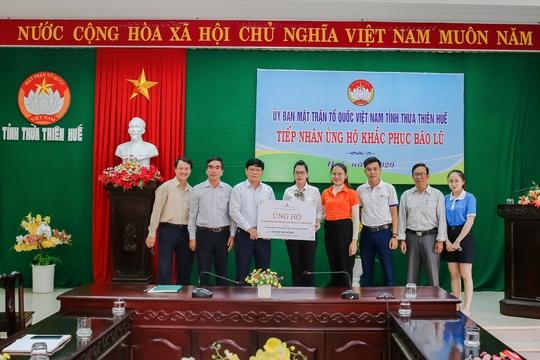Đất Xanh Miền Trung ủng hộ 400 triệu đồng khắc phục lũ lụt tại miền Trung - Ảnh 3.