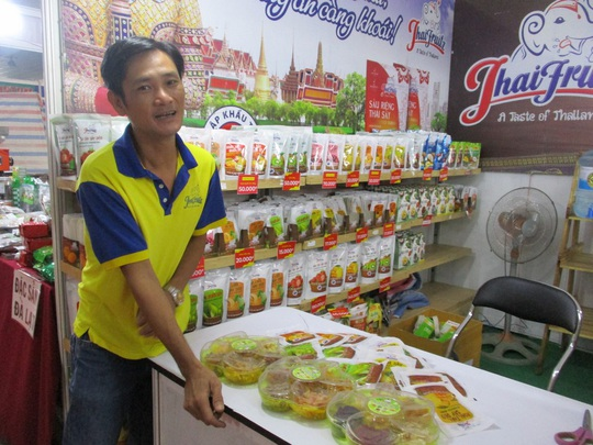 Thịt cá sấu, trái cây Thái Lan... xuất hiện tại hội chợ nông sản TP HCM - Ảnh 8.