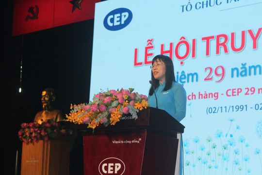 29 năm, CEP phục vụ 4,49 triệu lượt công nhân - Ảnh 1.