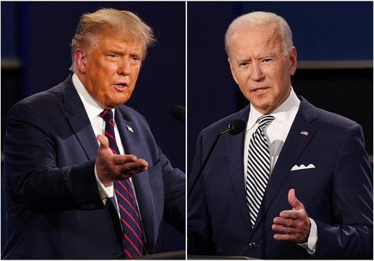 Hai ông Trump - Biden quyết chiến đến phút cuối - Ảnh 1.