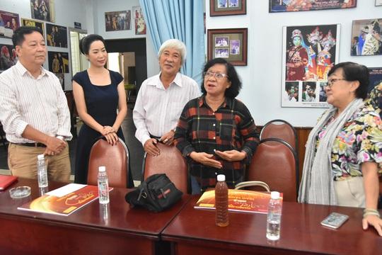 Mai Vàng nhân ái thăm NSƯT Ngọc Khanh và nghệ sĩ Tấn Thi - Ảnh 5.