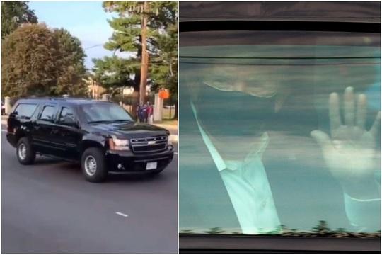 Tổng thống Trump bất ngờ rời bệnh viện thời gian ngắn - Ảnh 2.