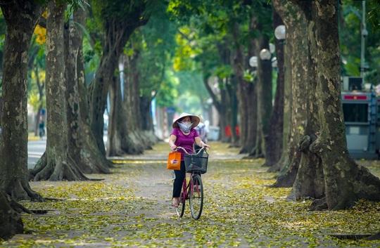 Khoảnh khắc Hà Nội trong mùa đẹp nhất năm - Ảnh 9.
