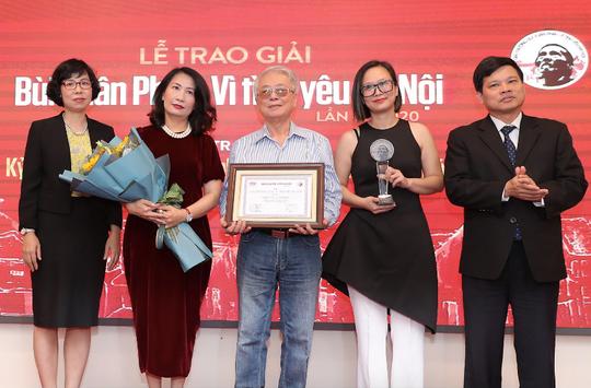 Nhạc sĩ Phú Quang nhận Giải thưởng lớn - Vì tình yêu Hà Nội - Ảnh 2.