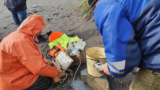 Thảm họa Kamchatka - Nga: Gần như tất cả sự sống dưới đáy biển bị xóa sổ - Ảnh 6.