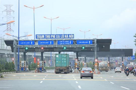 Đề xuất mở lại BOT xa lộ Hà Nội - Ảnh 1.