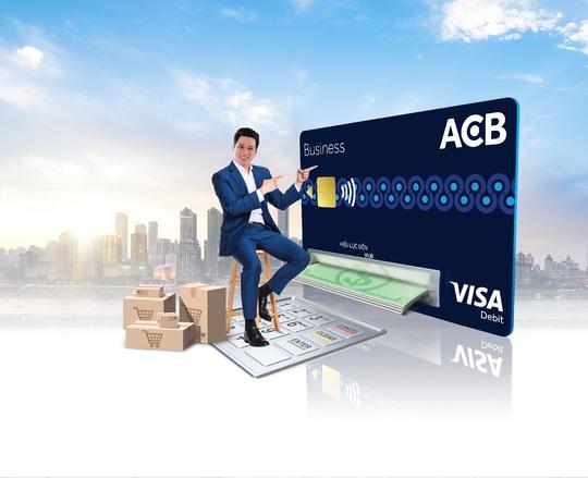 Thẻ ACB Visa Business Debit - trợ thủ đắc lực cho doanh nghiệp - Ảnh 1.