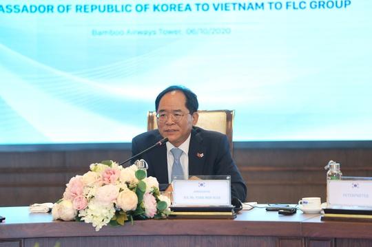 Đại sứ Hàn Quốc tại Việt Nam: Sẵn sàng là cầu nối giữa FLC và các đối tác Hàn Quốc - Ảnh 1.