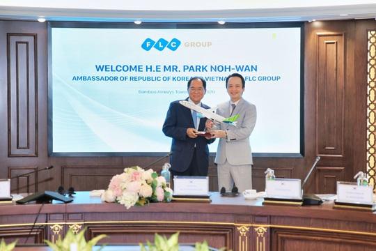 Đại sứ Hàn Quốc tại Việt Nam: Sẵn sàng là cầu nối giữa FLC và các đối tác Hàn Quốc - Ảnh 4.