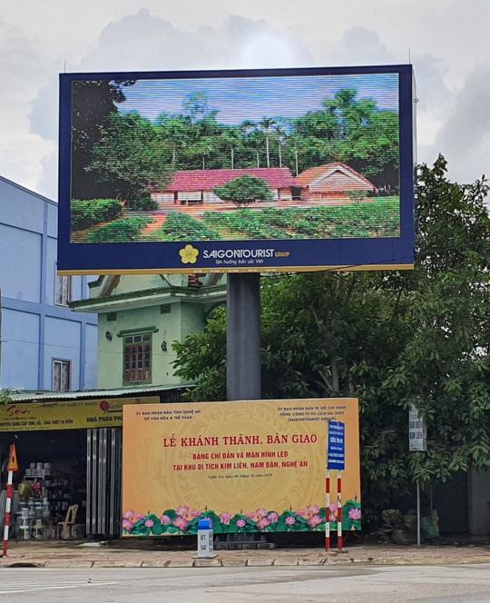 Saigontourist Group bàn giao bốn hạng mục đầu tư tài trợ tại khu di tích Kim Liên - Ảnh 2.