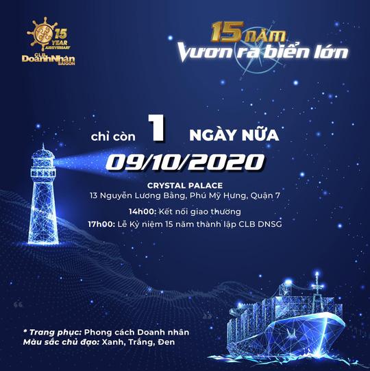 Kết nối giao thương cùng CLB Doanh nhân Sài Gòn - Ảnh 2.