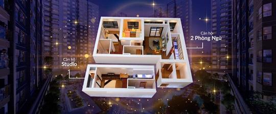 Ba điểm sáng khi chọn mua căn hộ đa chìa khóa Dual Key Akari City - Ảnh 2.