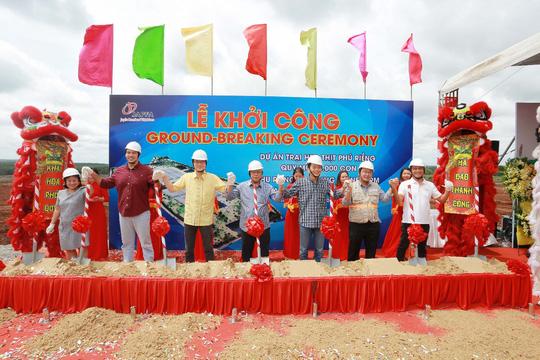 Japfa đầu tư xây dựng trang trại heo thịt 48,000 con - Ảnh 1.