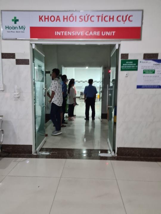 Điều tra nguyên nhân bệnh nhân nữ chết bất thường tại Bệnh viện Hoàn Mỹ Vạn Phúc 1 - Ảnh 2.