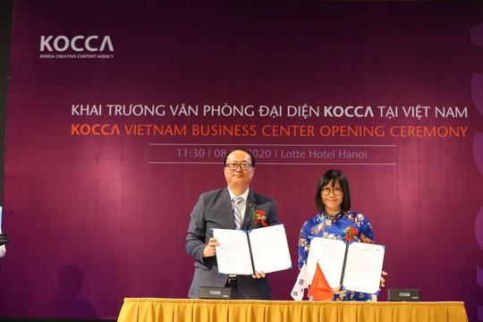 Khai trương Văn phòng đại diện KOCCA tại Việt Nam - Ảnh 2.