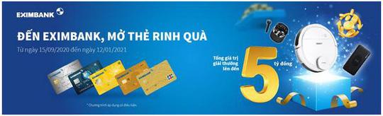 Eximbank - ngân hàng dẫn đầu tăng trưởng doanh số chấp nhận thanh toán qua thẻ - Ảnh 2.