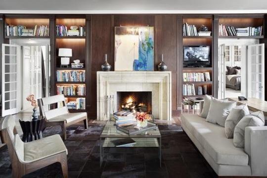 6 cách bài trí phòng khách tông xám đẹp tinh tế và bắt mắt - Ảnh 2.