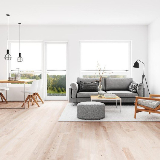 6 cách bài trí phòng khách tông xám đẹp tinh tế và bắt mắt - Ảnh 3.