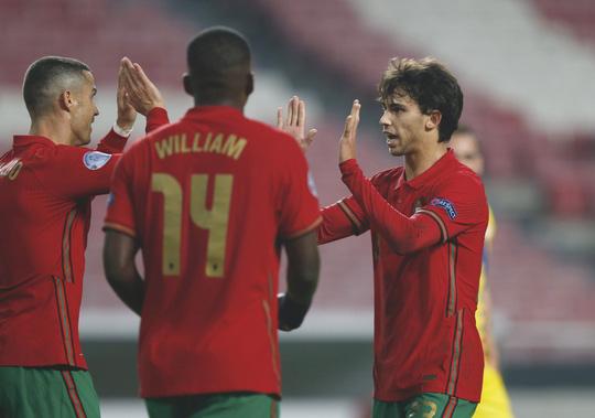Cữ tập kinh hoàng, Bồ Đào Nha trút mưa bàn thắng trước Andorra - Ảnh 4.