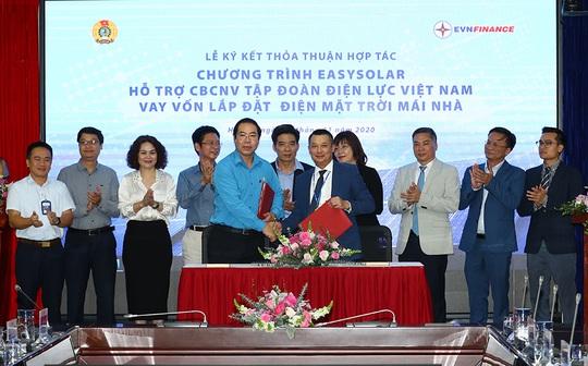 EVNFinance cung cấp gói vay lắp đặt điện mặt trời mái nhà cho CB-NV ngành điện - Ảnh 1.