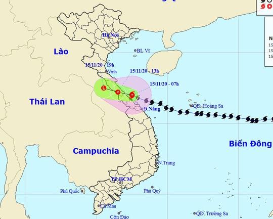 Tin khẩn cấp về bão số 13, miền Trung mưa lớn - Ảnh 1.
