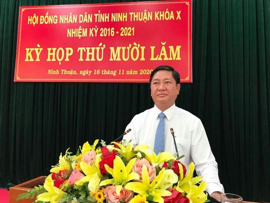 Ông Trần Quốc Nam được bầu giữ chức Chủ tịch UBND tỉnh Ninh Thuận - Ảnh 2.