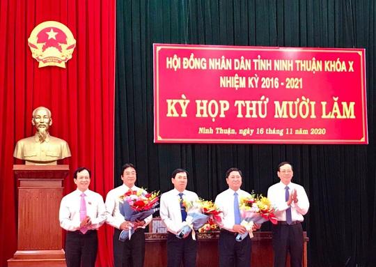 Ông Trần Quốc Nam được bầu giữ chức Chủ tịch UBND tỉnh Ninh Thuận - Ảnh 1.