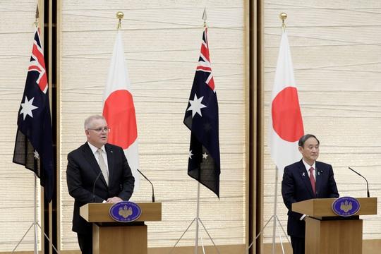 Úc - Nhật tăng cường quan hệ quốc phòng vì chung mối lo Trung Quốc - Ảnh 1.