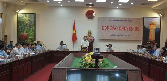 """Bình Thuận thông tin về 4 dự án """"lùm xùm"""" giao đất không qua đấu giá - Ảnh 1."""