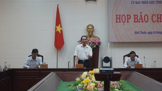 """Bình Thuận thông tin về 4 dự án """"lùm xùm"""" giao đất không qua đấu giá - Ảnh 2."""