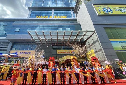 Nam A Bank triển khai nhiều hoạt động ý nghĩa nhân dịp khai trương Chi nhánh Bạc Liêu - Ảnh 1.