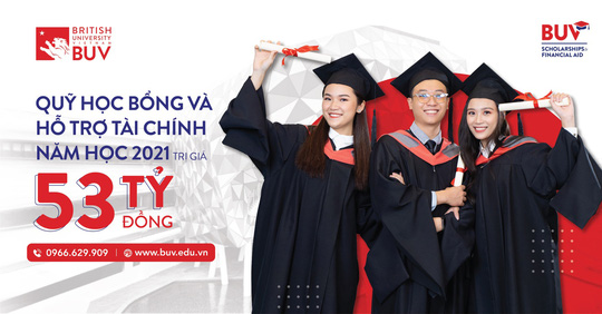 Trường Đại học Anh Quốc Việt Nam nâng giá trị quỹ học bổng và hỗ trợ tài chính lên 53 tỉ đồng - Ảnh 1.