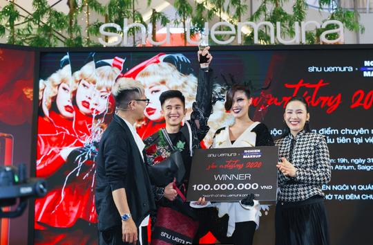 Lê Lạc Chấn xuất sắc giành ngôi quán quân cuộc thi Shu Artistry - Ảnh 3.