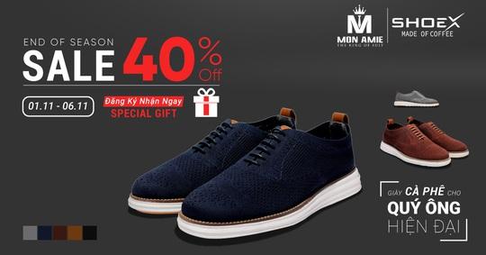 Ưu đãi đặc biệt khi mua giày cà phê ShoeX tại Mon Amie  - Ảnh 6.
