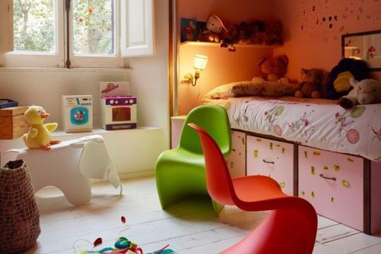 Mê mẩn với những mẫu phòng dành cho bé đầy sáng tạo - Ảnh 8.