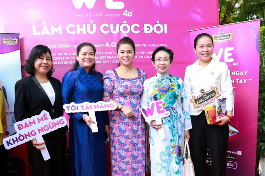 TNI KING COFFEE sẽ hỗ trợ 100.000 phụ nữ khởi nghiệp - Ảnh 1.