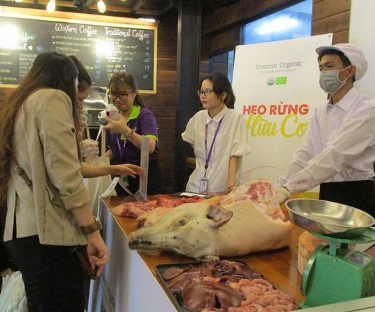 """Thịt heo rừng hữu cơ lần đầu xuất hiện tại """"Organic Town – Gis Market"""" - Ảnh 2."""