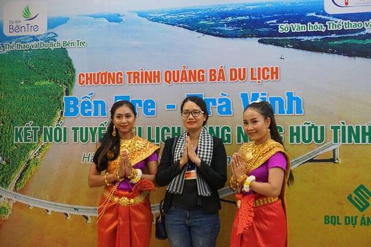 Trà Vinh, Bến Tre thúc đẩy Kết nối tuyến du lịch sông nước hữu tình - Ảnh 1.