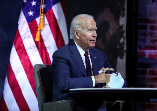 Ông Biden chuẩn bị cho lễ nhậm chức - Ảnh 1.