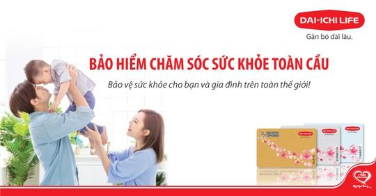 """Dai-ichiLife Việt Nam ra mắt sản phẩm """"Bảo hiểm chăm sóc sức khỏe toàn cầu"""" - Ảnh 1."""