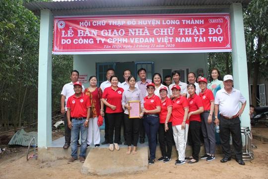 Vedan Việt Nam trao tặng 4 căn nhà Chữ thập đỏ - Ảnh 3.