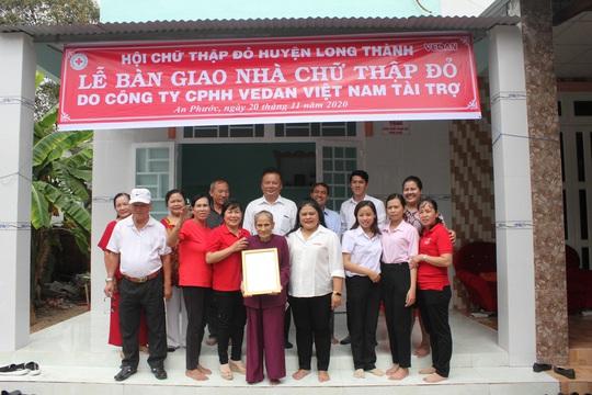 Vedan Việt Nam trao tặng 4 căn nhà Chữ thập đỏ - Ảnh 1.