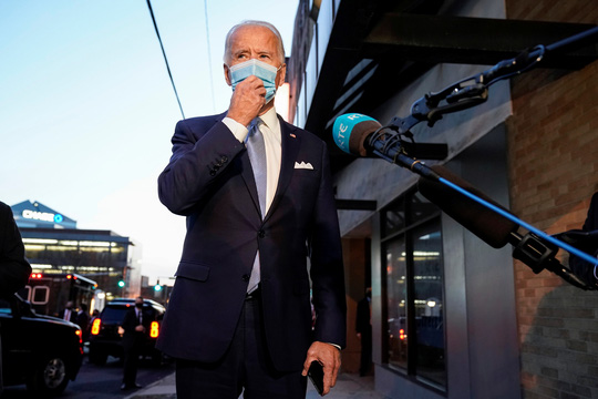 Bầu cử Mỹ: Ông Joe Biden lập kỷ lục về phiếu phổ thông - Ảnh 1.