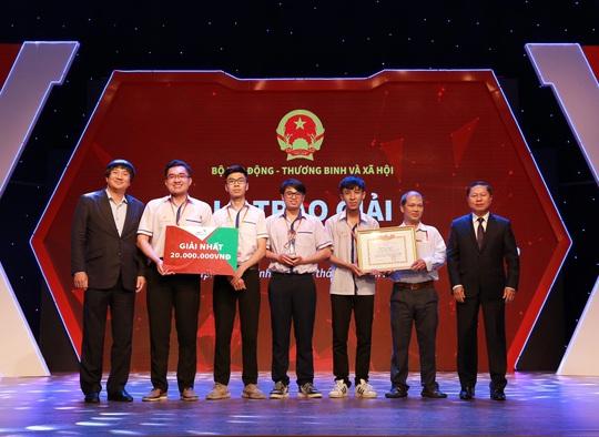 Trường CĐ Lý Tự Trọng giành giải nhất ý tưởng khởi nghiệp - Ảnh 1.