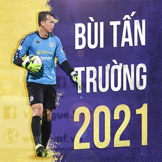 Thủ môn Tấn Trường trở lại đội tuyển sau khi gia hạn hợp đồng với Hà Nội FC - Ảnh 1.