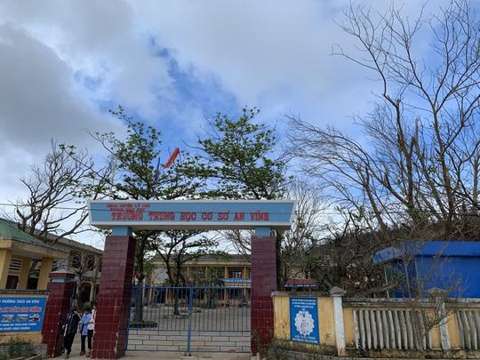 Hàng chục ngàn cây xanh trên đảo Lý Sơn bị bão vặt trụi lá - Ảnh 14.