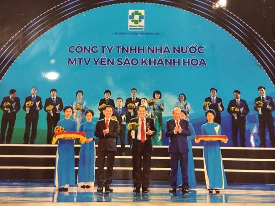 Yến Sào Khánh Hòa được tôn vinh Thương hiệu Quốc gia năm 2020 - Ảnh 1.