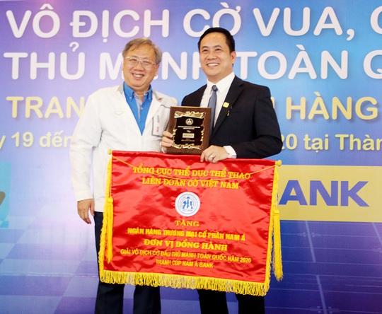 Nam A Bank tiếp tục đồng hành Giải Vô địch cờ đấu thủ mạnh toàn quốc - cúp Nam A Bank 2020 - Ảnh 1.